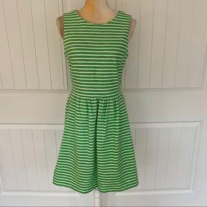J Crew striped dress size small
